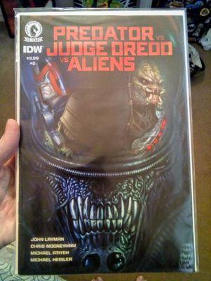 PREDATOR VS. JUDGE DREDD VS. ALIENS #2 Comic for Sale in Fresno, CA