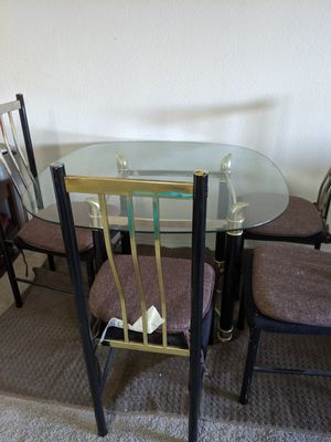 Glass Dining/Patio table for Sale for Sale in Milpitas, CA