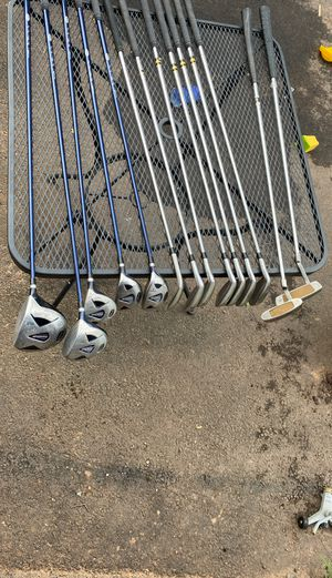 Wilson prostaff full set golf clubs irons driver woods wedge putters for Sale in Roselle Park, NJ