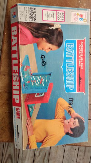 Battleship board games. Ages 8 & above . for Sale in Morrisville, NC