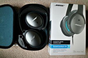 Bose Qc25 Quiet Comfort 25 Acoustic Noise Canceling Headphones for Sale in Oak Forest, IL