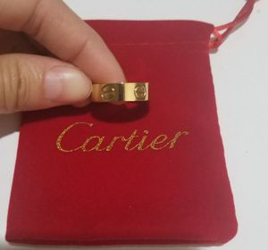 Cartier style Love gold 6mm ring for Sale in Austin, TX