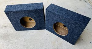 $70 / 2 brand new 10 inch sub boxes for truck for Sale in Sanger, CA