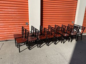 Restaurant chairs x6 for Sale in Fountain Valley, CA