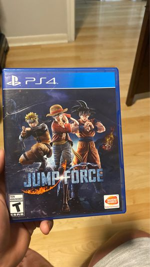 Jump force PS4 for Sale in Houston, TX