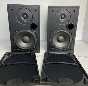 Polk Audio R10 2 Way Bookshelf Speakers Surround Sound Studio Monitor - Tested for Sale in Santa Ana, CA