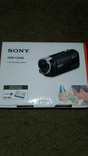 Beand New Sony HDR-CX440 Camera (Value $269) for Sale in Ripon, CA