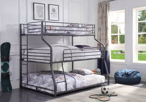 NEW Caius 3 tier metal bunk bed for Sale in Key Biscayne, FL