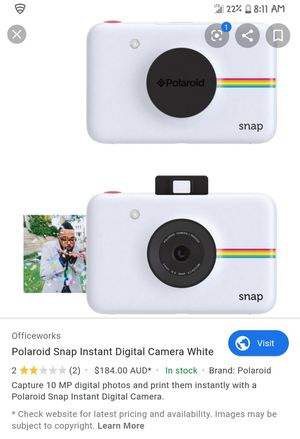 Polaroid Snap Instant Digital Camera with Flim for Sale in Franklin, TN