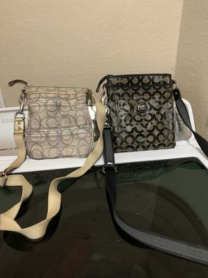 Coach crossbody both for $30 for Sale in Fort Worth, TX