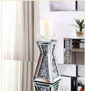 Brand new modern design mirrored candleholder for Sale in Atlanta, GA