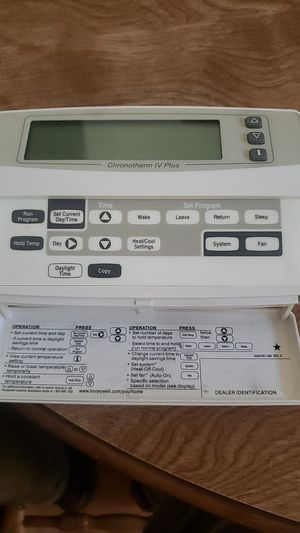 Honeywell Programmable Thermostat for Sale in Chandler, AZ