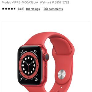 Apple Series 6 Watch for Sale in New Braunfels, TX