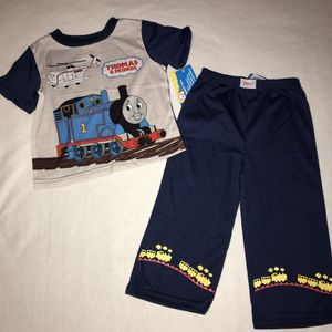 New NWT Thomas & Friends train pajamas pants shirt toddler boys 3 3T A031 for Sale in Whittier, CA