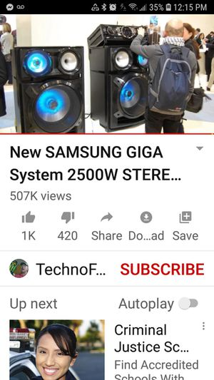 Samsung stereo systyem like new... definately the sound system for a music lover, and perfect for the DJ ... record and play your own music.. for Sale in Weatherford, OK