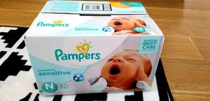 Unopened Pampers Diapers- Newborn for Sale in Austin, TX