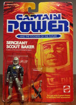 Captain Power Scout Baker Vintage Action Figure 80s Toys for Sale in Marietta, GA