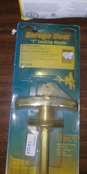 "GD-52122, Garage Door Locking ""T"" Handle for Sale in Georgetown, TX"