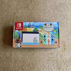 New Animal Crossing Special Edition Nintendo Switch Console for Sale in Seattle,  WA