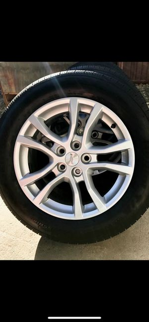 2015 Chevrolet Camaro bf Goodrich 245/55/R18 Tires and Rims for Sale in Baldwin Park, CA