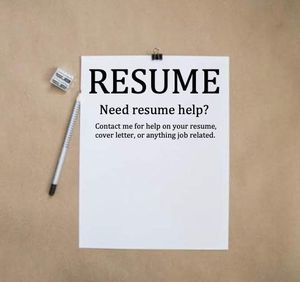 Need resume and cover letter help? for Sale in San Diego, CA