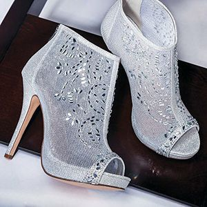 High Heel Peep-Toe Bootie Pump Shoes for Sale in Dallas, TX