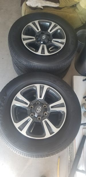 Toyota tacoma wheels and tires for Sale in Chula Vista, CA