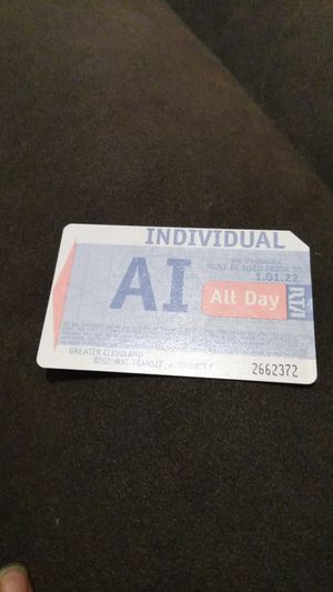 ALL DAY BUS PASS for Sale in Cleveland, OH
