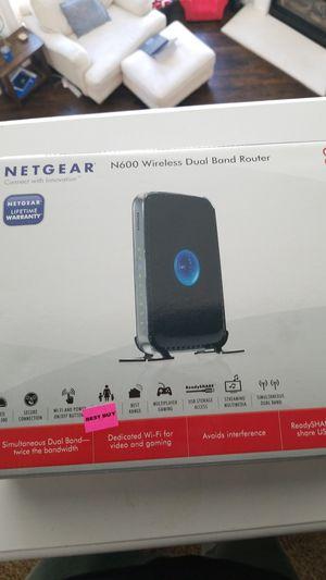 Netgear dual band router for Sale in Grand Prairie, TX