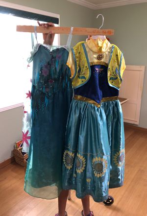 Disney Frozen Elsa and Anna dresses for Sale in Phoenix, AZ