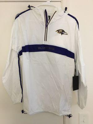 NWT Men's Baltimore Ravens Medium Windbreaker for Sale in Tampa, FL