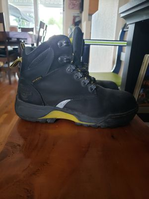 Ladies Dr Martens steel toe work boots size 7 for Sale in Puyallup, WA