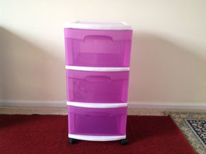 Plastic drawer for Sale in Alexandria, VA