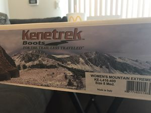 Kenetrek Women Mountain boots Extrem Cold for Sale in Jessup, MD