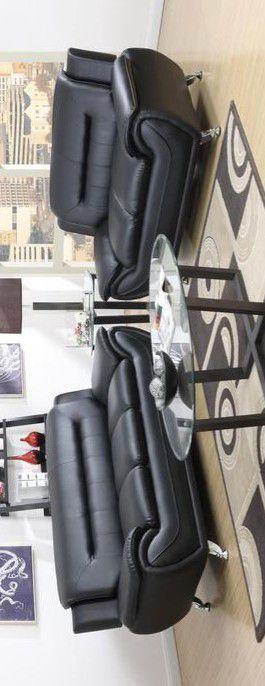 🔥Enna Black Sofa &Loveseat by Global for Sale in Glen Burnie, MD