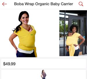 Boba freedom together baby carrier for Sale in Bowie, MD