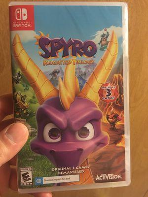 Brand new Spyro Trilogy Nintendo Switch for Sale in Dover, DE