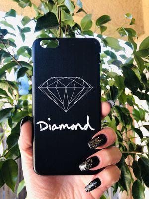 Brand new cool iphone 6+ PLUS case cover slim fit hard sleeve case light weight DIAMOND SUPPLY SKATE mens guys hypebeast hypebae womens for Sale in San Bernardino, CA