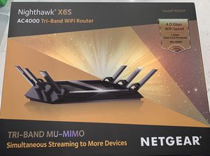 NETGEAR Nighthawk X6S AC4000 Tri-band WiFi Router for Sale in Daniels, MD