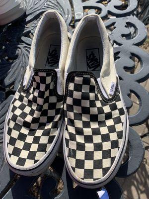 Vans checker slip on for Sale in Omaha, NE