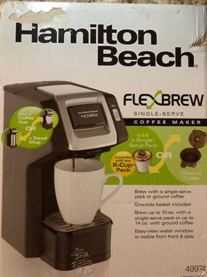 Hamilton Beach FlexBrew Single Serve Coffee Maker for Sale in Phoenix, AZ