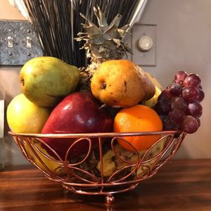 Copper Wire Fruit Basket for Sale in Marblehead, MA