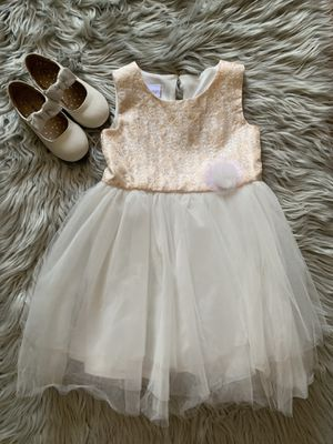 Cream & Gold Party Dress for Sale in Irvine, CA