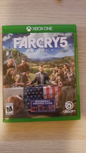 Xbox one farcry 5 for Sale in Portland, OR