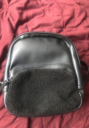 Pleather black backpack for Sale in Berkeley, CA