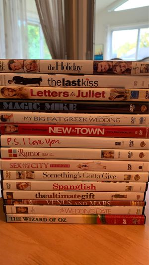 Lot of 15 DVDs - take them all for $30 for Sale in Elk Grove Village, IL