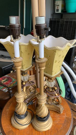 2 sets of lamps, all work great for Sale in Mentor, OH