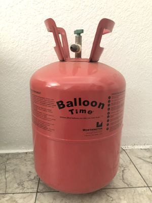 Balloon helium tank (empty) for Sale in Moreno Valley, CA
