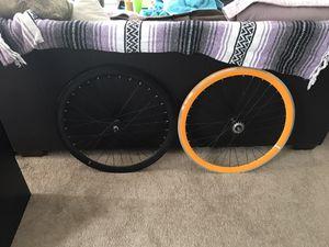 937f1d23a4f Fixed gear Single speed wheel set for Sale in Santa Monica