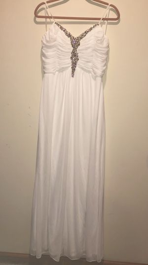 White Formal Dress for Sale in Pittsburgh, PA